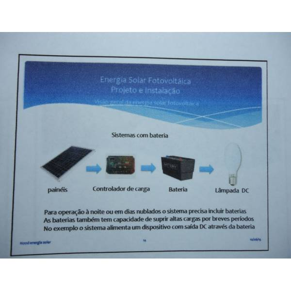 Curso de Energia Solar Onde Achar em Cananéia - Energia Solar Cursos