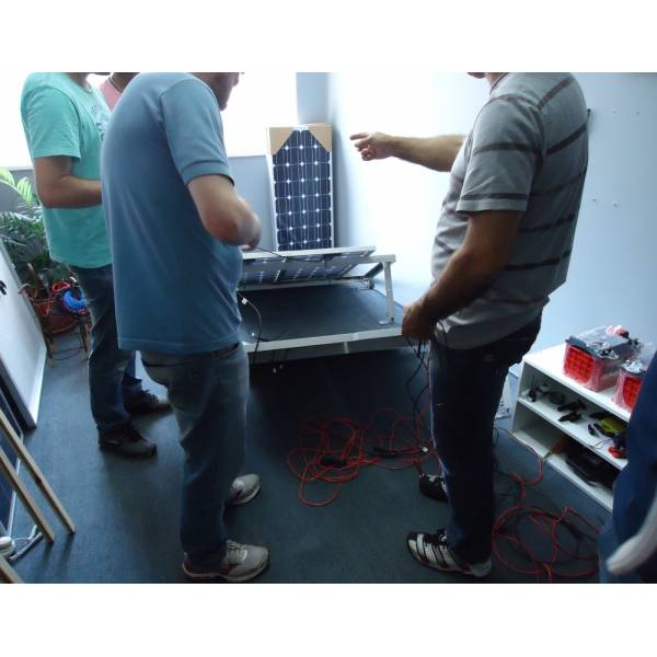 Curso de Energia Solar Preço Acessível no Mandaqui - Curso de Instalação de Energia Solar