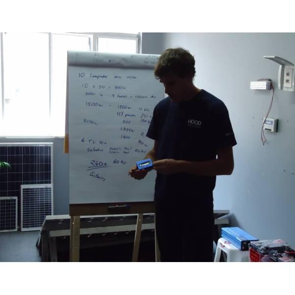 Cursos de Energia Solar Onde Encontrar no Capão do Embira - Curso de Instalação de Energia Solar