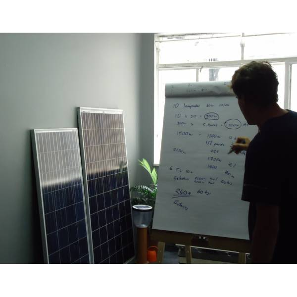 Cursos de Energia Solar Onde Fazer em Dracena - Curso de Energia Solar na Zona Norte