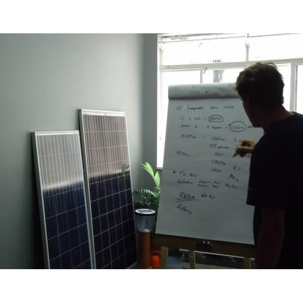Cursos de Energia Solar Onde Fazer no Alto Santo André - Curso de Energia Solar na Zona Leste