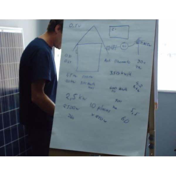 Cursos de Energia Solar Preço Baixo na Vila Celeste - Curso de Energia Solar em São Bernardo