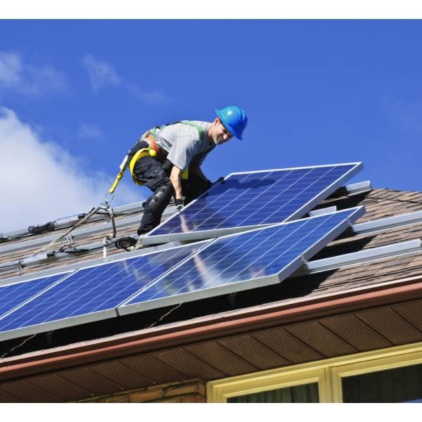 Custo Instalação Energia Solar Preço Baixo na Chácara Lane - Instalação de Energia Solar Residencial