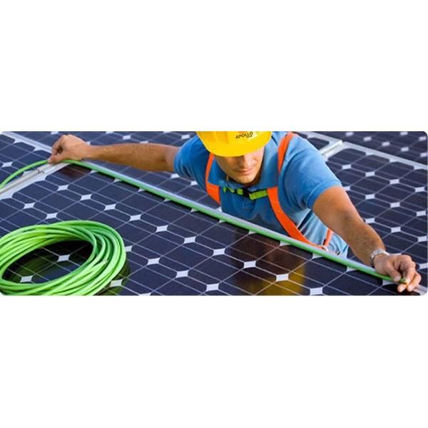 Energia Solar Aterramento na Vila Lutécia - Instalação Energia Solar