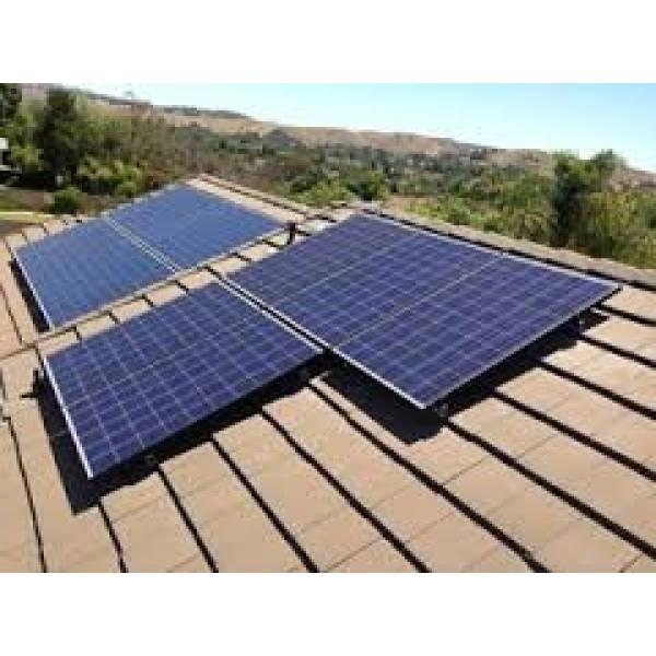 Energia Solar Pequeno Sistema na Vila Diva - Instalação de Energia Solar