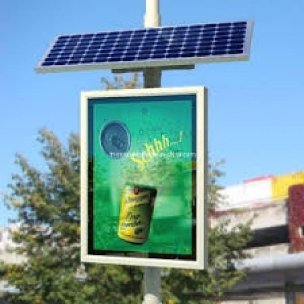 Energia Solar Poste Outdoor na Fazenda Aricanduva - Instalação de Energia Solar