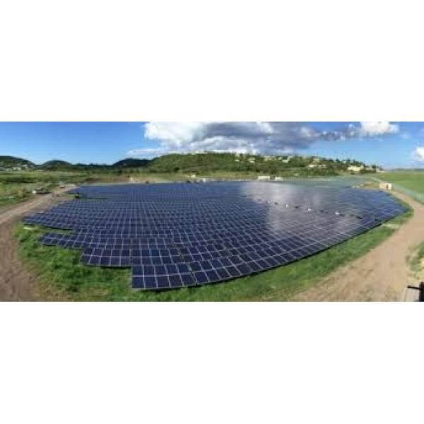 Gerador de Energia Solar na Vila do Encontro - Instalação de Painel Solar