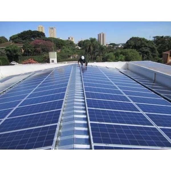 Instalação Energia Solar Metal no Recanto Paragon - Instalação de Aquecedor Solar