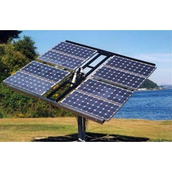 Instalação Energia Solar Poste na Vila Elba - Instalação Painel Solar