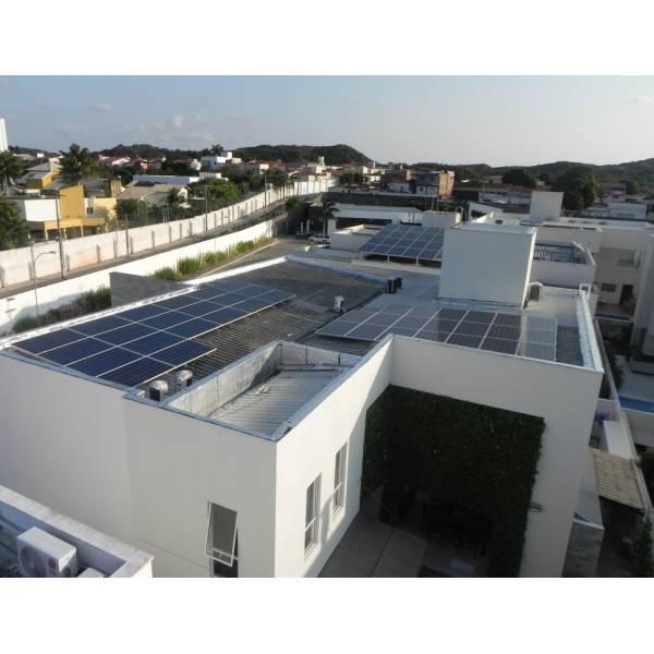Instalação Energia Solar Roof na Freguesia do Ó - Instalação de Aquecedor Solar
