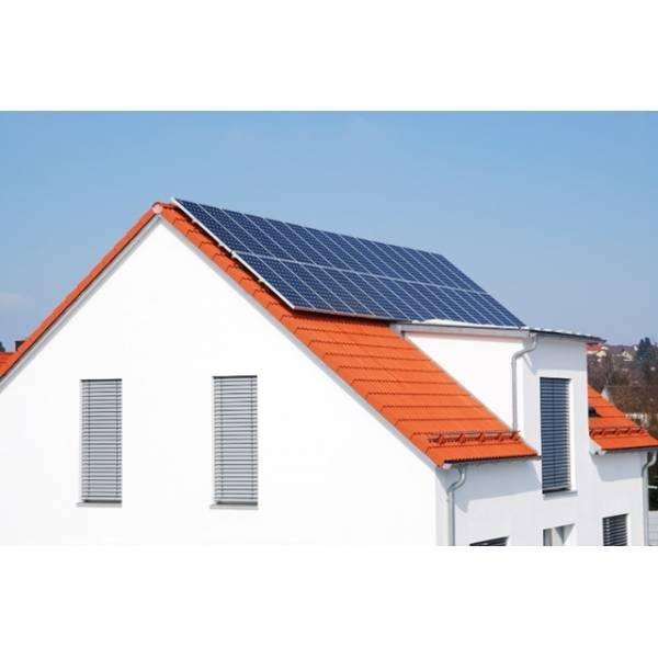 Instalação Energia Solar Telhado Inclinado no Jardim Evana - Instalação Painel Solar