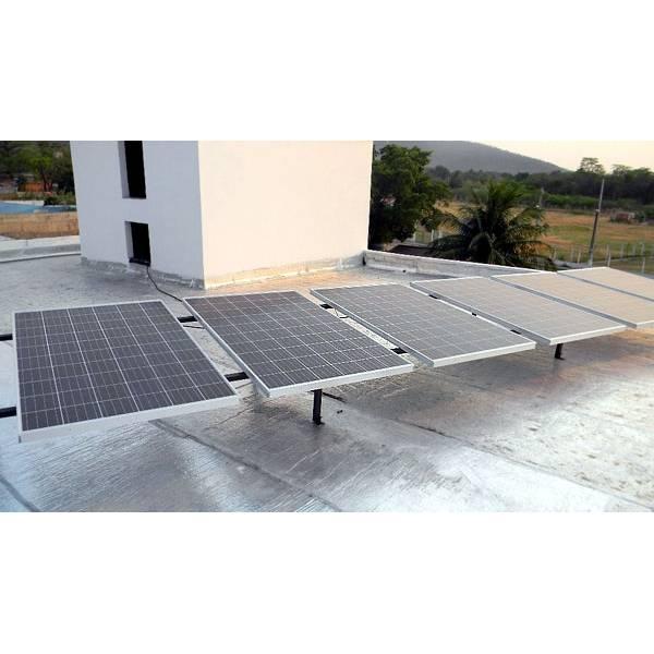 Sistema Solar na Chácara do Sol - Instalação de Aquecedor Solar