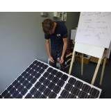 Curso de energia solar onde adquirir na Vila Raquel