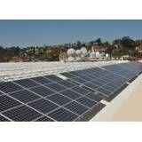 Energia solar acessível no Barragem
