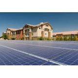 Energia solar de casas na Vila São José