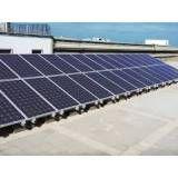 Energia solar indústria no Campo da Água Branca