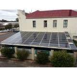 Energia solar para casas na Vila Leo