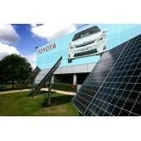 Energia solar para outdoor no Conjunto Residencial Vanguarda