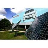 Energia solar para outdoor no Jardim Laone