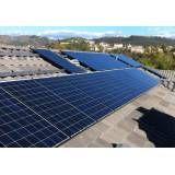 Energia solar processo na Vila Santa Lúcia
