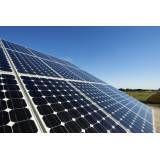 Energia solar valor acessível no Jardim dos Francos