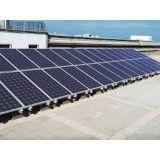 Instalação de energia solar na Zona Sul