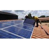 Instalação de energia solar residencial