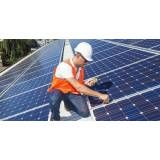 Instalação energia solar na Vila Marieta