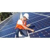 Instalação energia solar no Sítio do Morro
