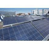 Instalação energia solar valores na Vila Alzira