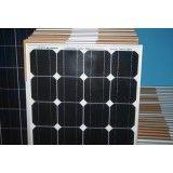 Painel solar fotovoltaico na Zona Leste