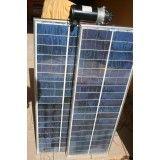 Painel solar fotovoltaico na Zona Oeste