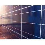 Sistema fotovoltaico na Vila Helena