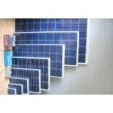 Sistema fotovoltaico onde fazer no Jardim da Glória