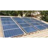 Sistema solar roof top em Boracéia