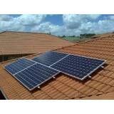 Solar instalação mono no Jardim Educandário
